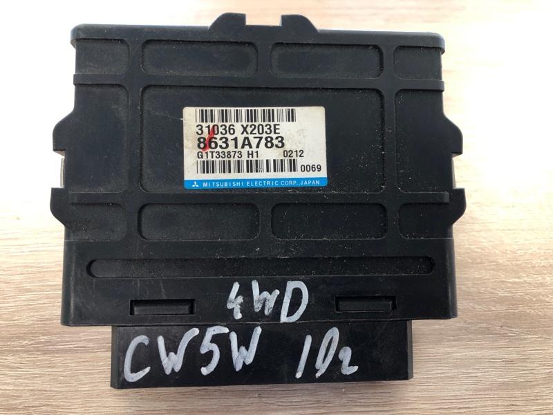 Блок управления акпп Mitsubishi Outlander Xl CW (б/у) 8631A783