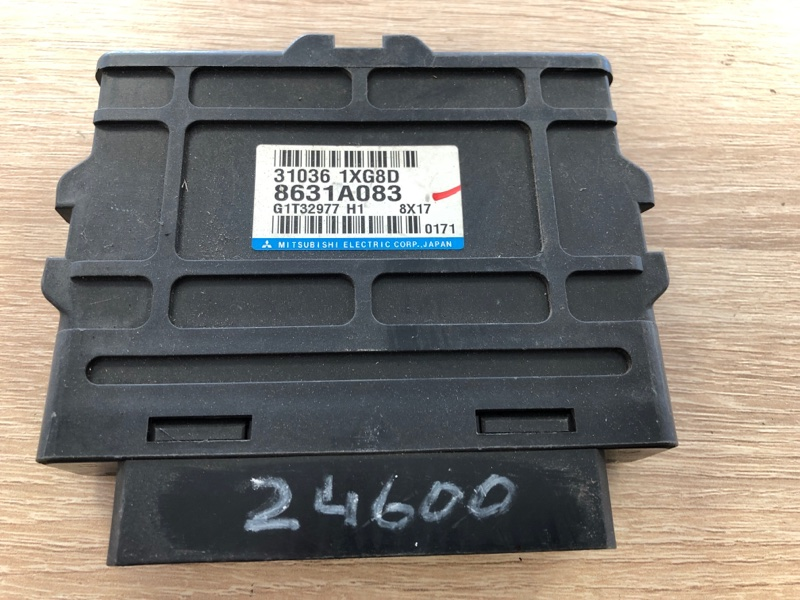 Блок управления акпп Mitsubishi Lancer 10 (б/у) 8631A083