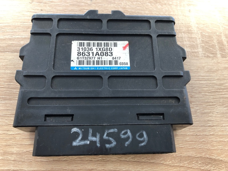 Блок управления акпп Mitsubishi Lancer 10 CY1A 4B10 2007 (б/у) 8631A083