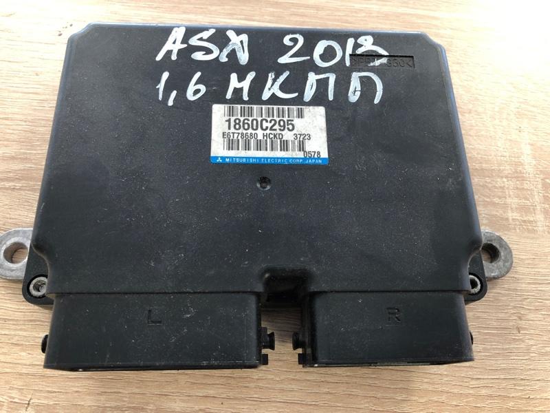Блок управления двигателем Mitsubishi Asx GA1W 4B10 2010 (б/у) 1860C295