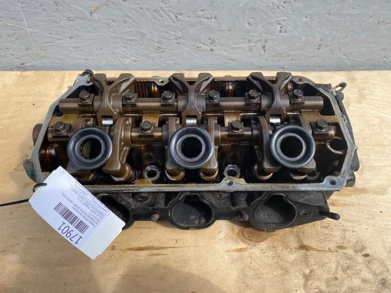 Головка блока цилиндров Mitsubishi Pajero Sport 1 K97W 4D56 1998 (б/у) MD307677