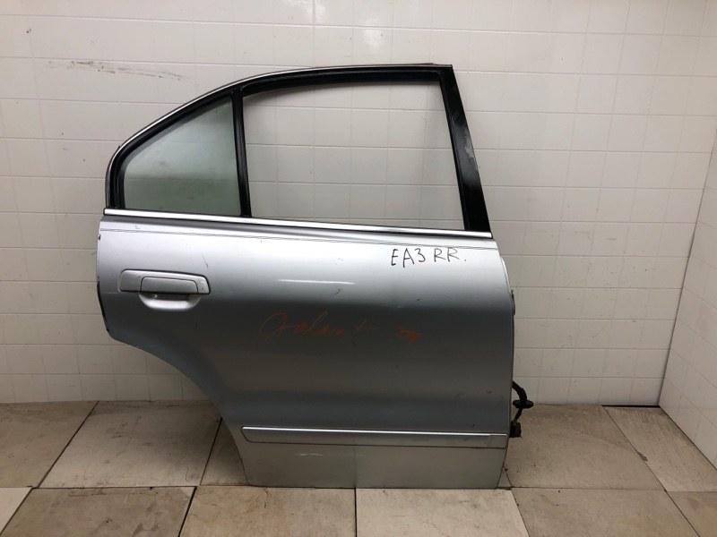 Дверь Mitsubishi Galant EA2A 1999 задняя правая (б/у) MR273248