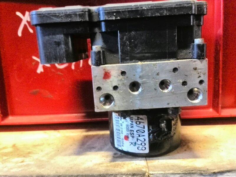 Блок abs Mitsubishi Asx CY1A 4A91 2007 (б/у) 4670A298