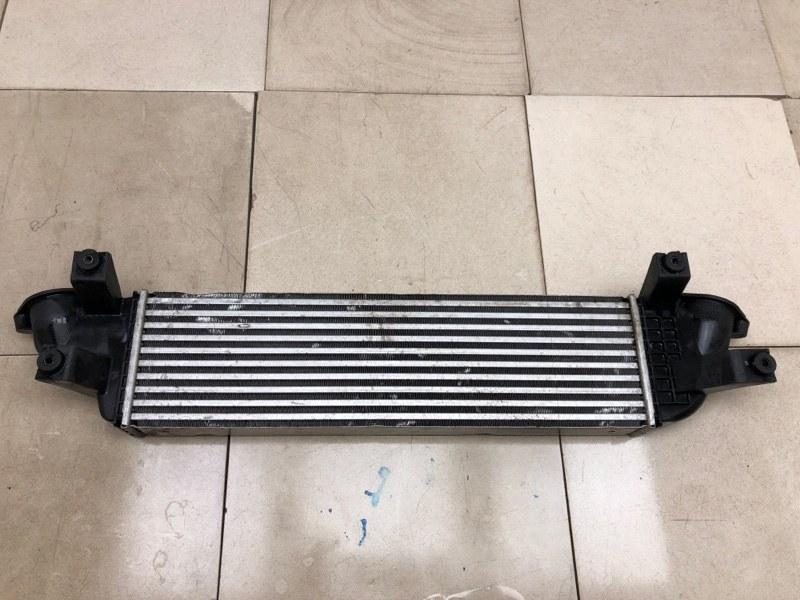 Радиатор интеркуллера Mitsubishi Pajero Sport 3 KS1W 4N15 2015 (б/у) 1530A161