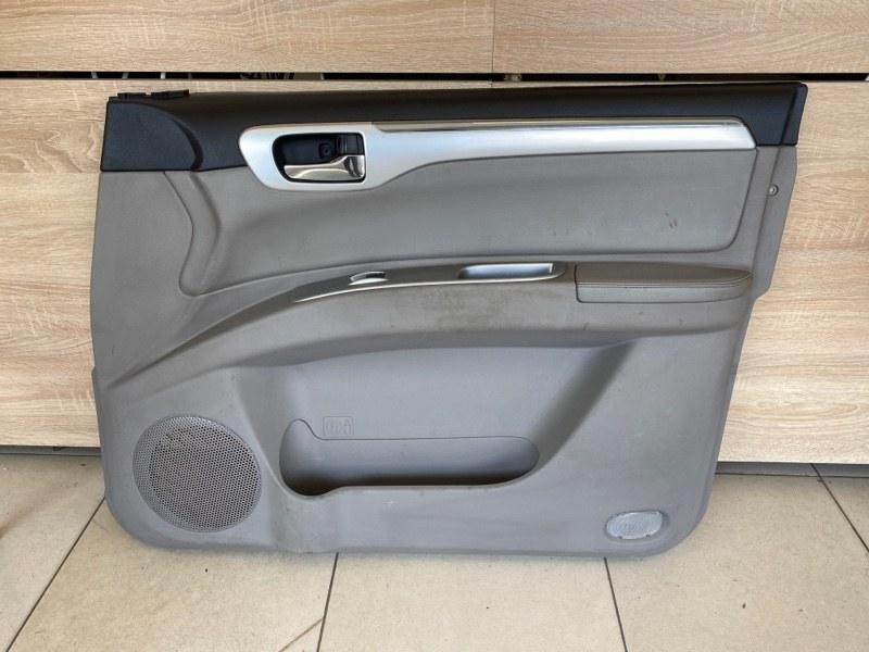 Обшивка двери Mitsubishi Pajero Sport 2 KH4W 4D56 2008 2009 2010 2011 2012 2013 2014 2015 передняя правая (б/у) 7221B108XA