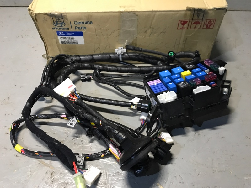 Проводка под капот Hyundai Tucson BH 2.0TD 2004 912022E394