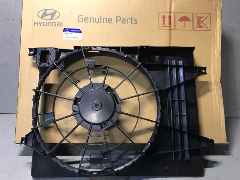 Диффузор радиатора двигателя Hyundai Tucson TM 2013 2014 2015 (б/у) 253502Z000