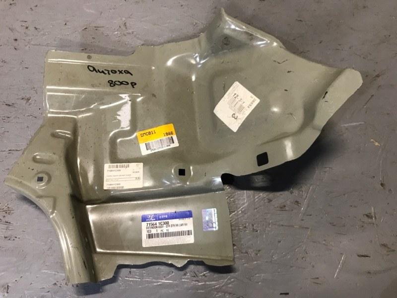 Панель кузова задняя металл Hyundai Getz 1.4 1.6 2002 2003 2004 2005 2006 задний правый (б/у) 715641C300