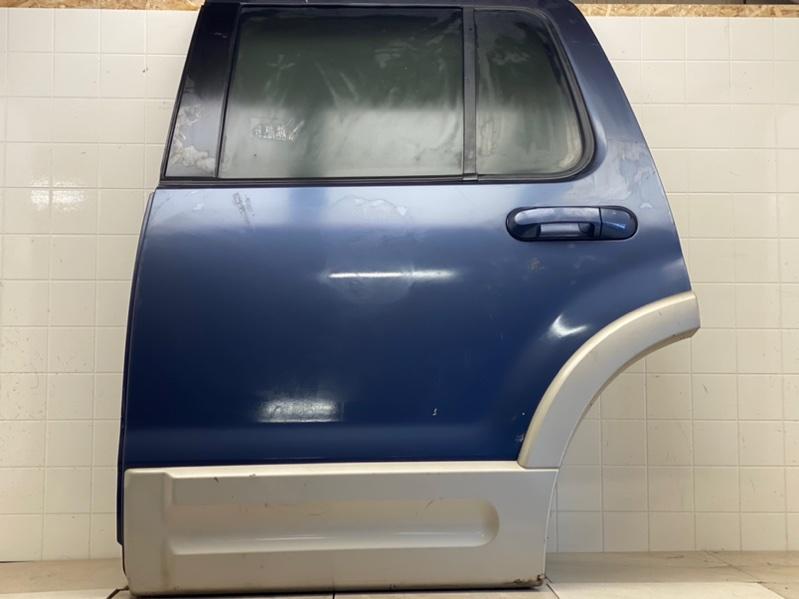 Дверь Ford Explorer 3 2001 2002 2003 2004 2005 2006 2007 2008 2009 2010 2011 задняя левая (б/у) 2L2Z7824631AA