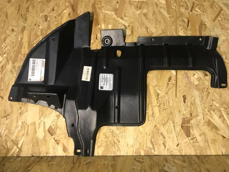 Пыльник переднего бампера Mitsubishi Outlander 1 CU2W 4G63 2003 передний нижний STMB500251