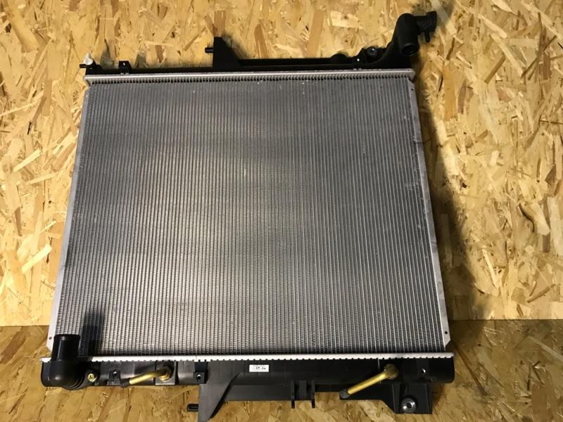 Радиатор двс Mitsubishi Pajero Sport 2 KH4W 4D56 2008 2009 2010 2011 2012 2013 2014 2015 MB20005910