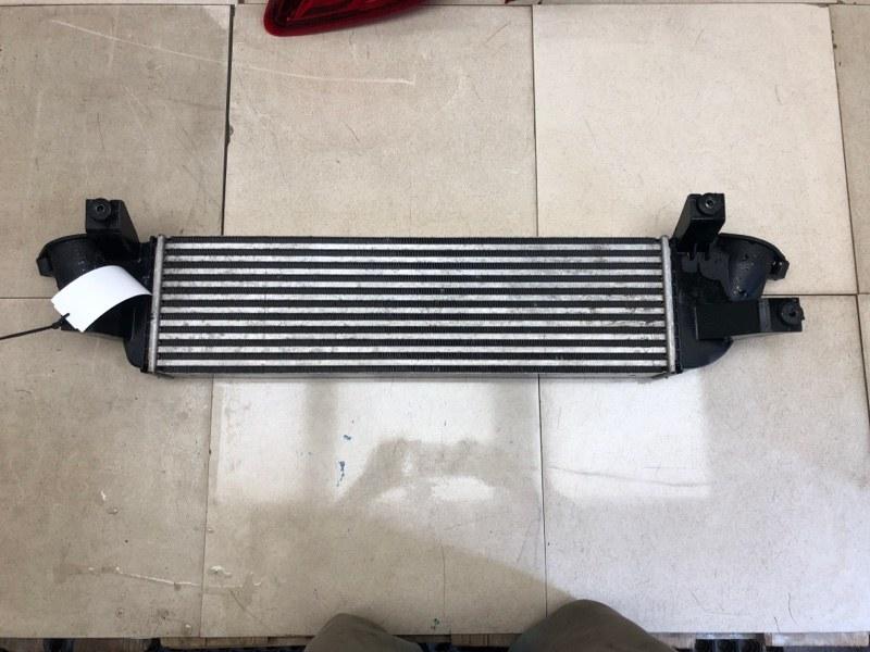 Радиатор интеркуллера Mitsubishi Pajero Sport 3 KS1W 4N15 2017 (б/у) 1530A161