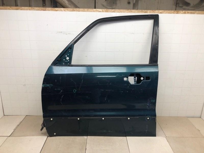 Дверь Mitsubishi Pajero 3 V64W 4D56 2000 передняя левая (б/у) MR555447