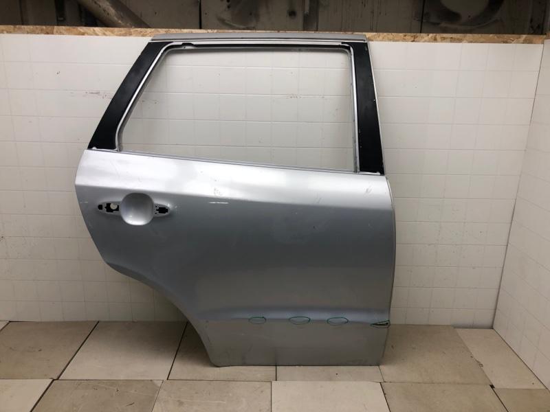 Дверь Hyundai Santa Fe 2 BM 2.0TD 2006 2007 2008 2009 2010 2011 2012 задняя правая (б/у) 770042B020