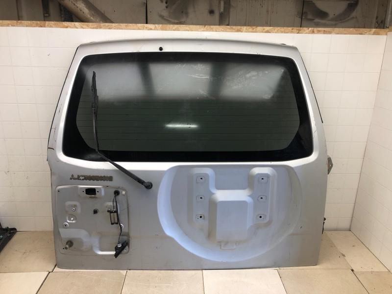 Крышка багажника Mitsubishi Pajero 3 2000 задняя (б/у) MR508408