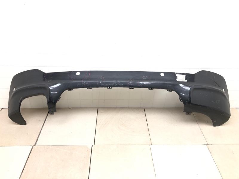 Накладка бампера заднего Bmw X4 F26 задняя нижняя (б/у) 51128057000