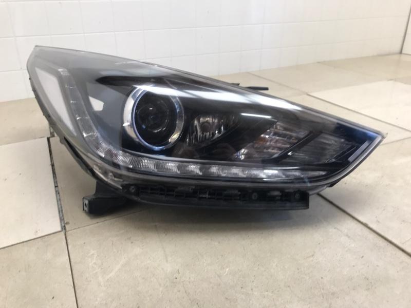 Фара Hyundai Solaris 2 H5 1.4 2017 2018 2019 передняя правая (б/у) 92102H5100