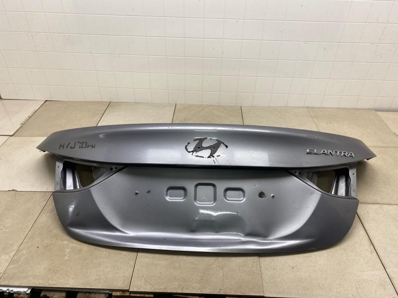 Крышка багажника Hyundai Elantra 5 MD G4FA 2011 задняя (б/у) 692003X050