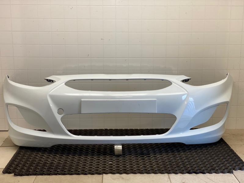 Бампер передний Hyundai Solaris 1 G4FA 2011 2012 2013 2014 передний (б/у) 865114L000