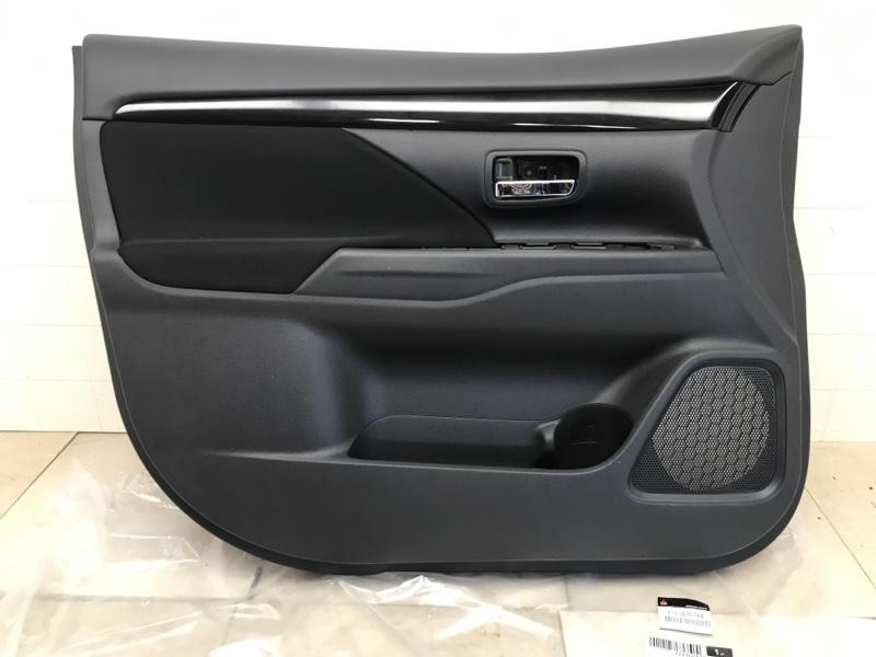 Обшивка двери Mitsubishi Outlander 3 GF2W 4B10 2012 передняя левая (б/у) 7221D757XA