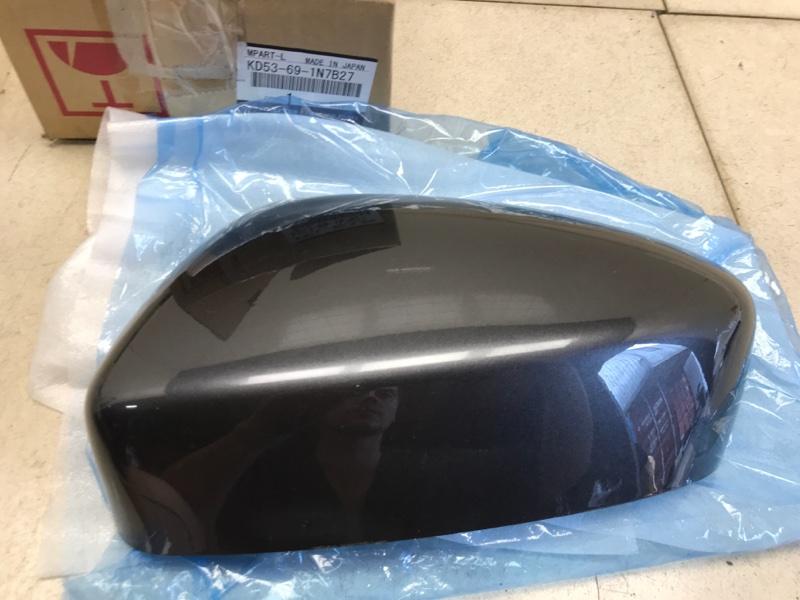 Накладка зеркала Mazda Cx-5 KE 2012 левая (б/у) KD53691N7B27
