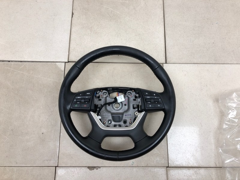 Руль Hyundai Genesis DH 2014 (б/у) 96700B1000, 96700B1650