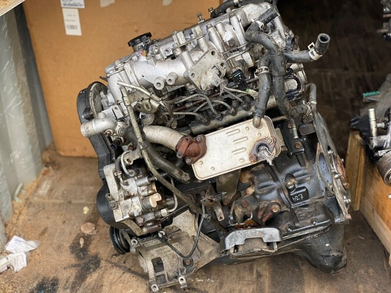 Двигатель Mitsubishi L200 2005- KB4T 4D56U 2007 (б/у) 1000B469