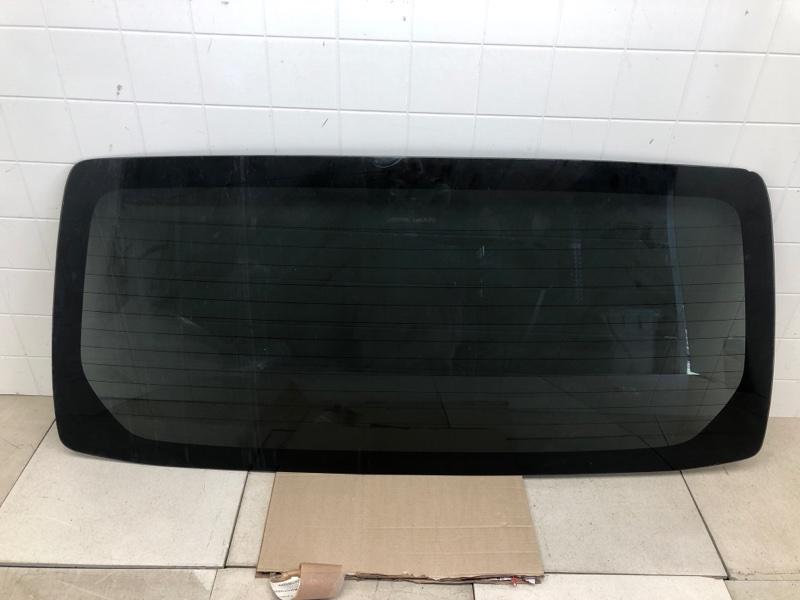 Стекло крышки багажника Mitsubishi Pajero 3 V63W 2002 заднее (б/у) MR492442