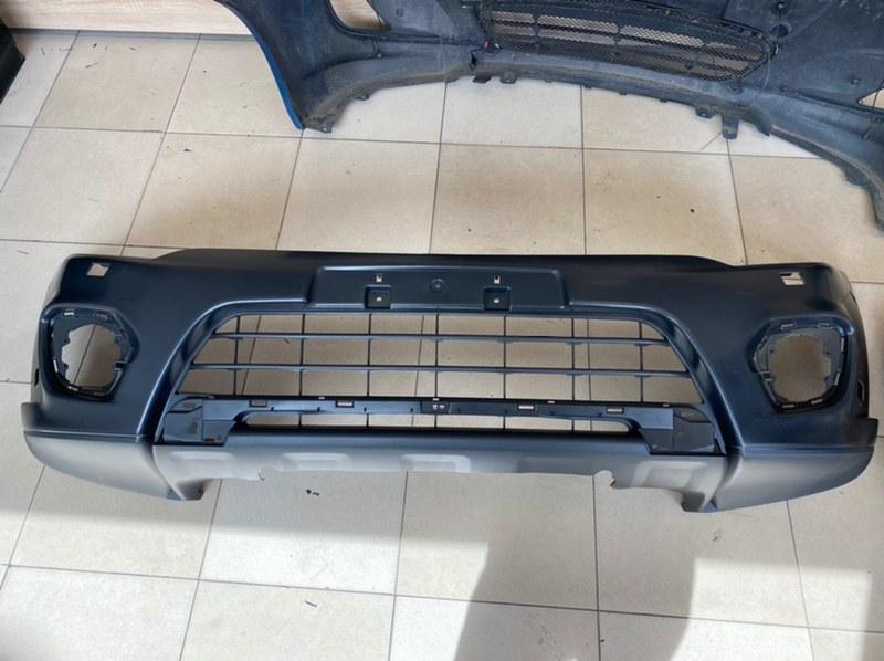 Бампер передний Mitsubishi Pajero Sport 2 KH4W 4D56 2008 2009 2010 2011 2012 2013 2014 2015 передний 6400G112