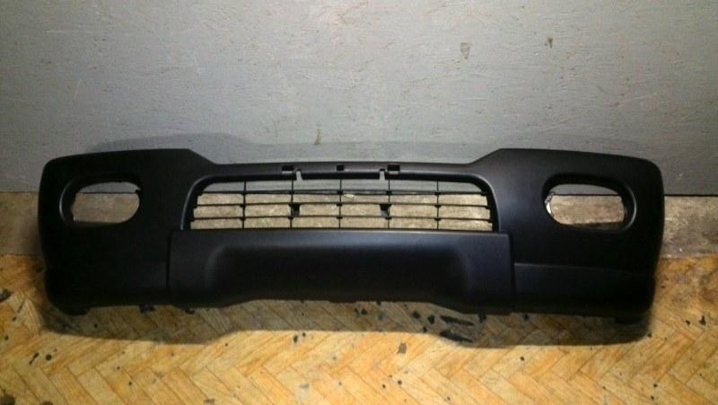 Бампер передний Mitsubishi Pajero Sport 1 K97W 4D56 1998 передний MB21007