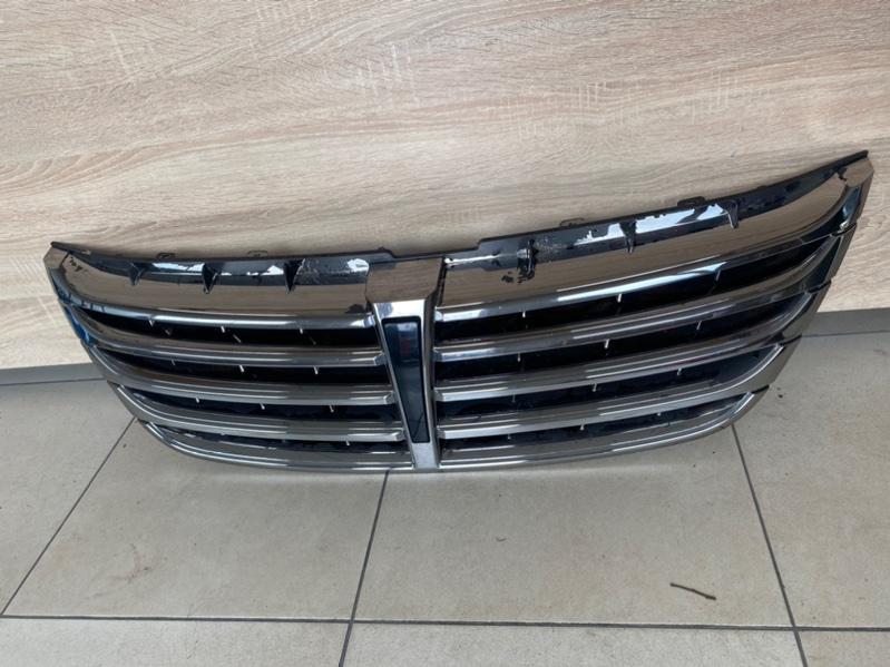 Решетка радиатора Hyundai Equus 2013 2014 2015 2016 (б/у) 863513N700