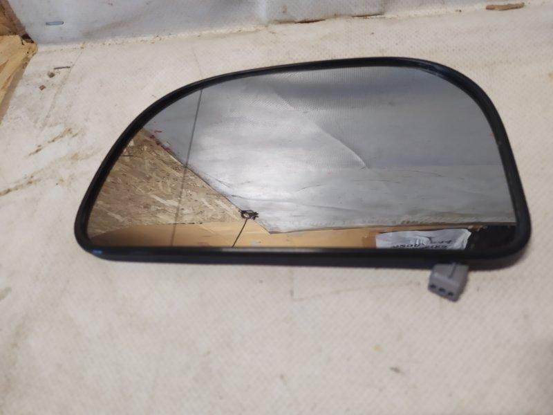 Зеркальный элемент Mitsubishi Galant EA2A 1999 левый MR322963