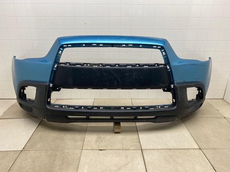 Бампер передний Mitsubishi Asx GA1W 4B10 2010 2011 2012 передний (б/у) 6400C950BA