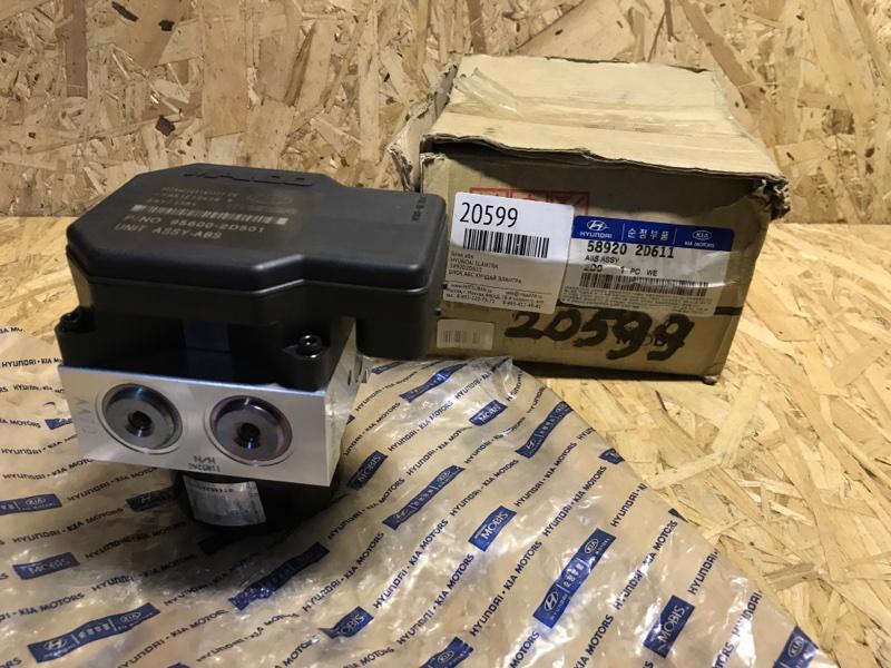 Блок abs Hyundai Elantra 589202D611