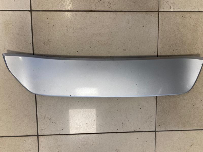 Накладка бампера заднего Mitsubishi Eclipse Cross GK1W 1.5T 2017 2018 2019 2020 правая (б/у) 6415A070HA