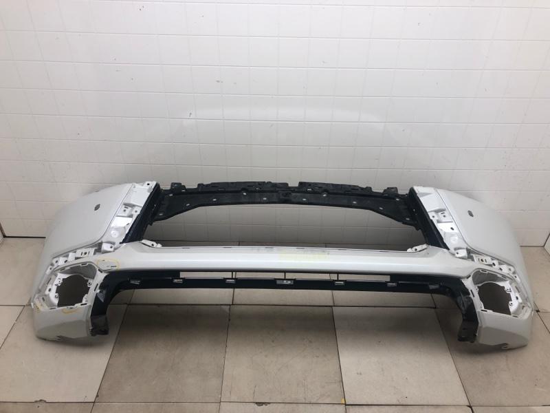 Бампер передний Mitsubishi Pajero Sport 3 KS1W 4N15 2015 передний (б/у) 6400G853