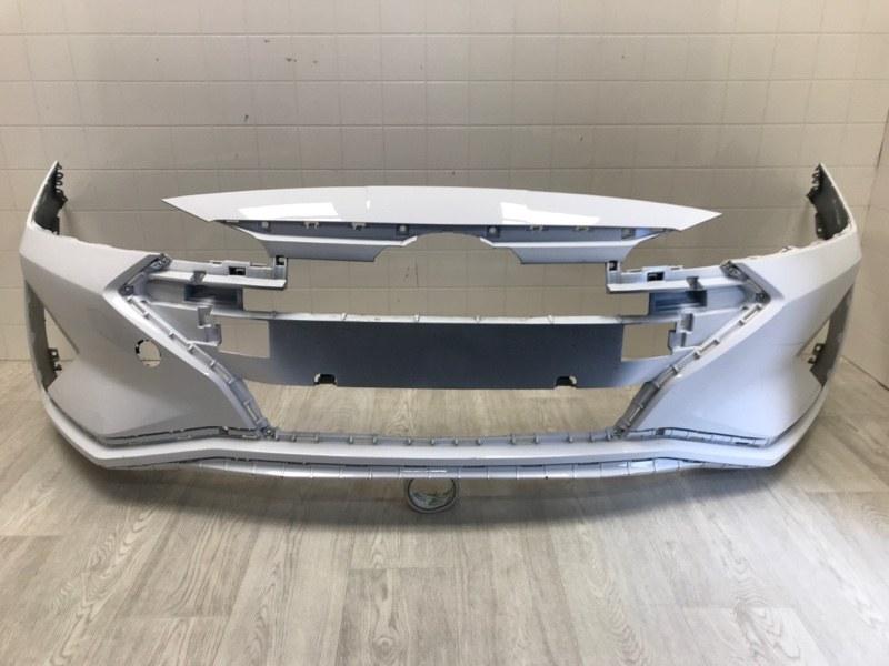 Бампер передний Hyundai Elantra 6 AD 1.6 2018 2019 2020 (б/у) 86511F2AA0