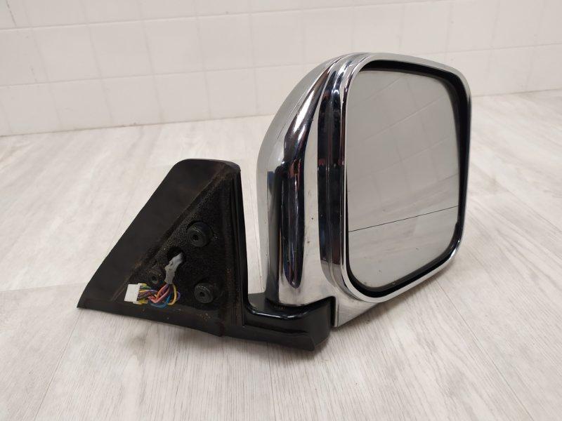 Зеркало правое Mitsubishi Pajero Sport 1 K97W 4D56 1998 1999 2000 2001 2002 2003 2004 2005 2006 2007 2008 правое (б/у) MR970556