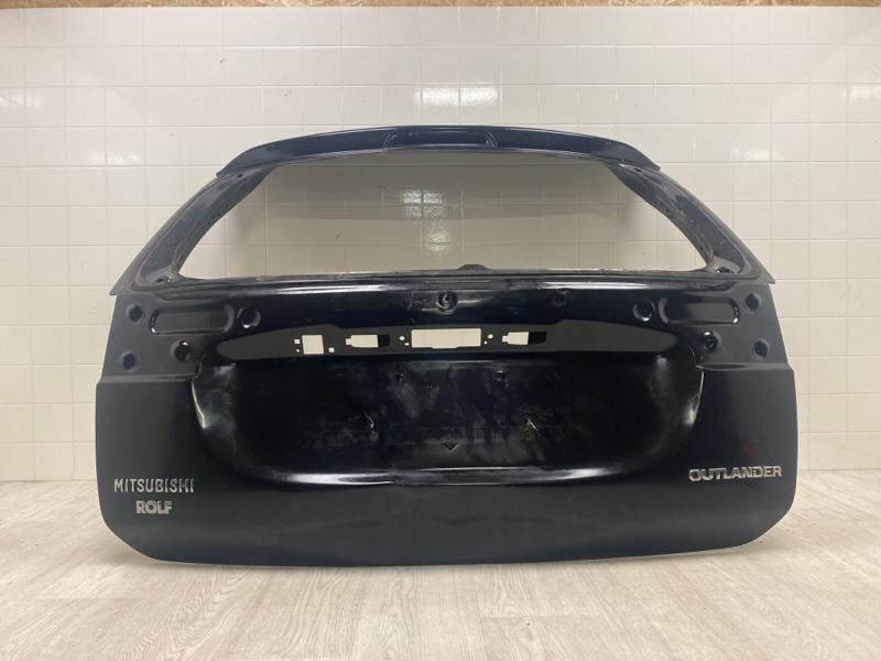 Крышка багажника Mitsubishi Outlander 3 GF2W 4B10 2012 2013 2014 2015 задняя (б/у) 5801B680