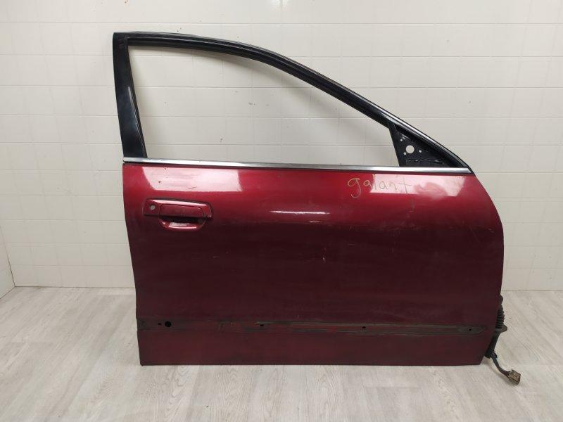 Дверь Mitsubishi Galant EA2A 1999 передняя правая (б/у) MR273244