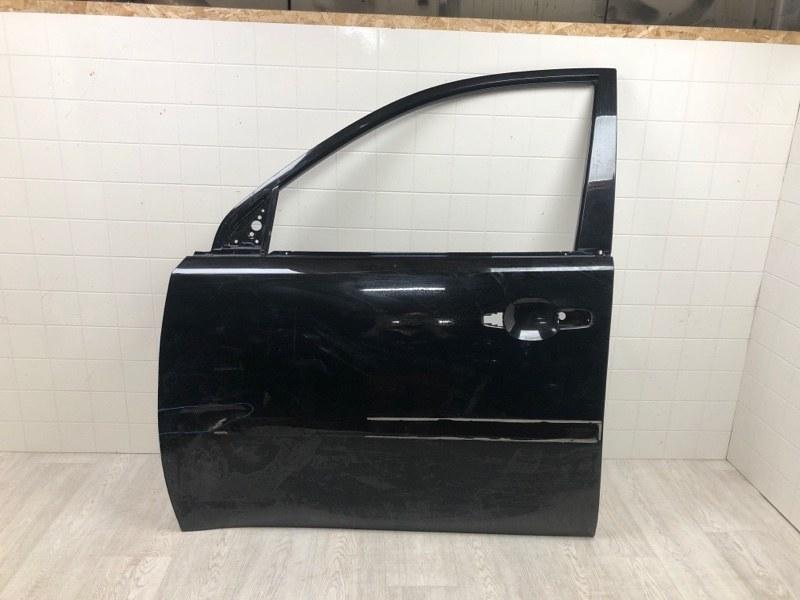 Дверь Mitsubishi Pajero Sport 2 KB4T 4D56U 2005 передняя левая (б/у) 5700B529