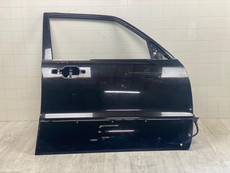 Дверь Mitsubishi Pajero 3 V64W 4D56 2000 2001 2002 2003 2004 2005 2006 передняя правая (б/у) MR555438