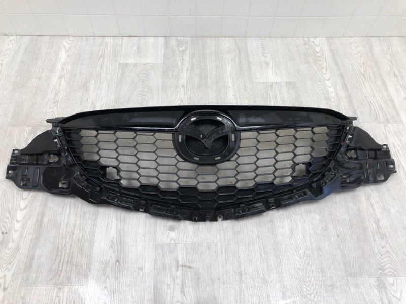 Решетка радиатора Mazda Cx-5 KE 2.0 2011 передняя (б/у) KD4550710G