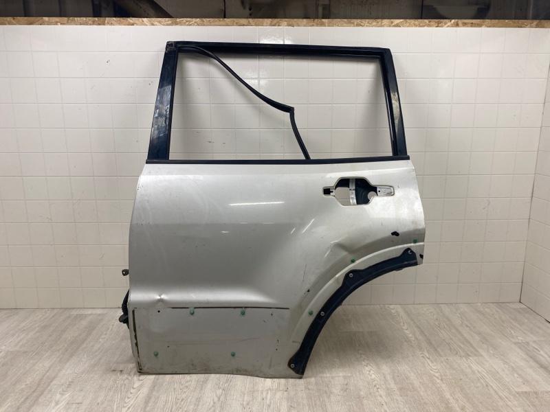 Дверь Mitsubishi Pajero 3 2000 2001 2002 2003 2004 2005 2006 задняя левая (б/у) MN150367