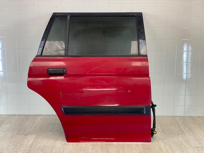 Дверь Mitsubishi Pajero Sport 1 K97W 4D56 1998 задняя правая (б/у)