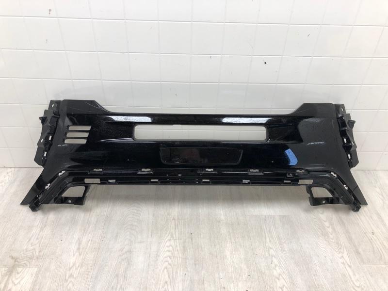 Накладка на бампер Mitsubishi Outlander 3 GF2W 4B10 2019 2020 передняя (б/у)