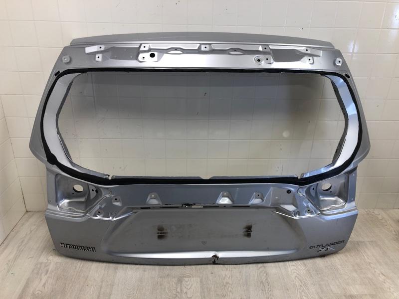 Крышка багажника Mitsubishi Outlander Xl CW1W 4B11 2006 2007 2008 2009 2010 2011 2012 задняя (б/у)