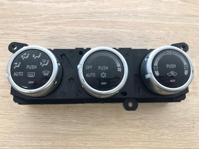 Блок управления климат-контролем Mitsubishi Pajero Sport 2 KH4W 4D56U 2008 2009 2010 2011 2012 2013 2014 2015 (б/у)