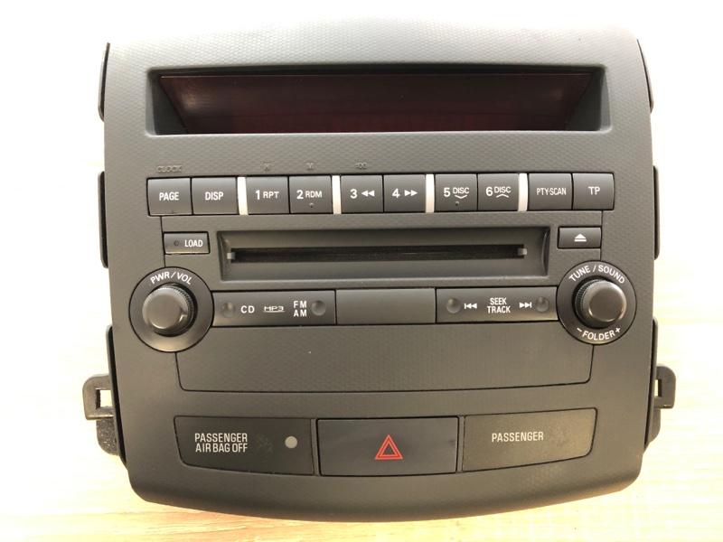 Рамка магнитолы Mitsubishi Outlander Xl CW1W 4B11 2006 2007 2008 2009 2010 2011 2012 (б/у)