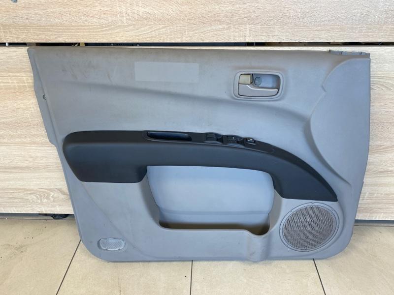 Обшивка двери Mitsubishi L200 2005- KB4T 2005 2006 2007 2008 2009 передняя левая (б/у)